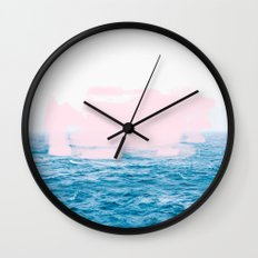 Ocean + Pink #society6 #decor #buyart Wall Clock