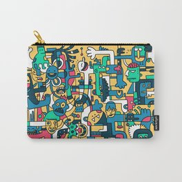 Silly King Carry-All Pouch