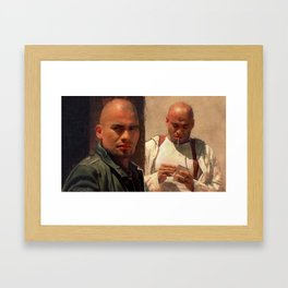 The Salamanca Brothers - The Cousins - Better Call Saul Framed Art Print