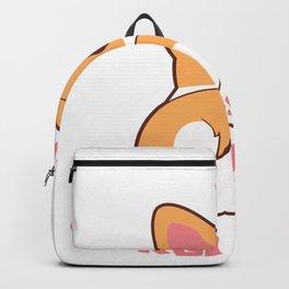 Guess What Corgi Butt Funny Dog Lover Gift design Backpack