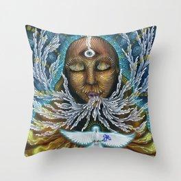 Feminine Rising Throw Pillow