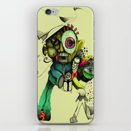 The Mad Hatter iPhone Skin