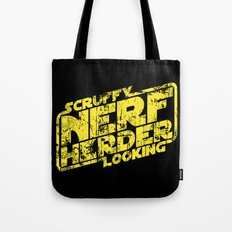 Scruffy Looking Nerf Herder Tote Bag