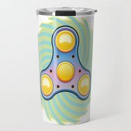 Fidget hand spinner Travel Mug