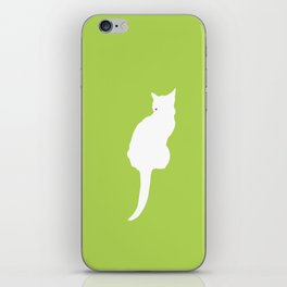 Cat Silhouettes: Chartreux iPhone Skin