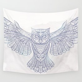 Ethnic Owl Wall Tapestry