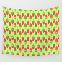 It's Summer Time Popsicle Wall Tapestry