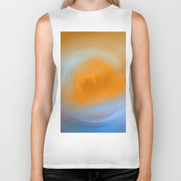 Soft Sunrise - Energy Art By Sharon Cummings Biker Tank