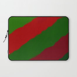 Red and Green Christmas Gift Laptop Sleeve