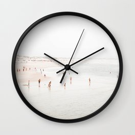At the Beach (two) Wall Clock