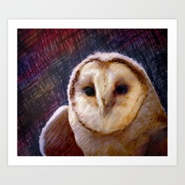 I Am Wise Art Print