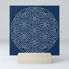 Winter Pattern I Mini Art Print