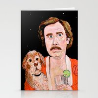 """classy Stationery Cards featuring """"Stay Classy"""" by Jordan Soliz"""