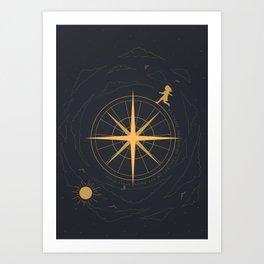The Rising Moon Art Print