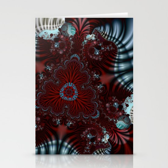 abstract universe Stationery Cards