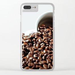 coffee pleasure Clear iPhone Case