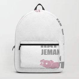 Pig cook order Funny Bayern gift Backpack