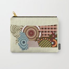Montana State Map Carry-All Pouch