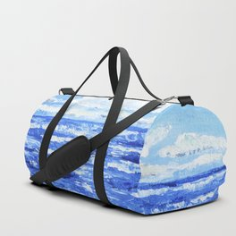Infinite blue Duffle Bag