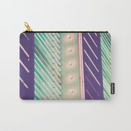 Turquoise Neon Carry-All Pouch