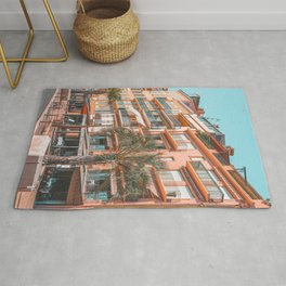 Beautiful Exotic Architecture, Cannes City Print, Vintage Print, Urban French Riviera Print, Summer France Rug