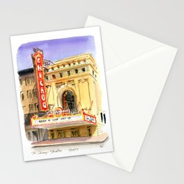 Chicago Theatre Stationery Cards