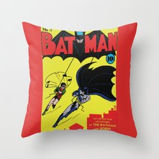 Comic 1 Throw Pillow