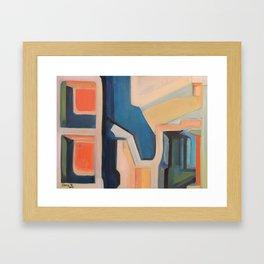 Slices of Ruin Framed Art Print