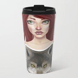 Inner Wolf Metal Travel Mug