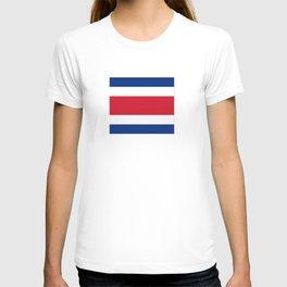 Flag of Costa rica -Costa rican, tico,San José ,Puerto Limón ,Alajuela, heredia. T-shirt