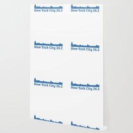 Run New York City Elevation Map 26.2 NYC Wallpaper