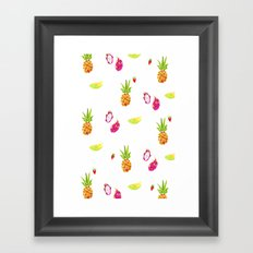 Fruit Fun Framed Art Print