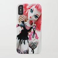 monster high iPhone & iPod Cases featuring Monster High  by Jessica Yakamna