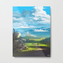 Road to the Promised Dream Metal Print