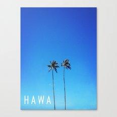 Hawaii Palm Trees Canvas Print