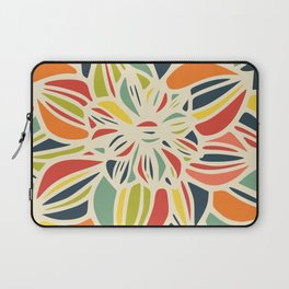 Vintage flower close up Laptop Sleeve