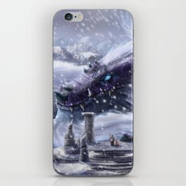 Arctic Dragon iPhone Skin
