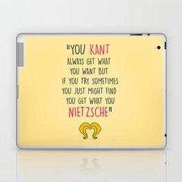 Hedwig, Kant & Nietzsche Laptop & iPad Skin
