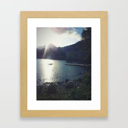A'Chrois Beams Framed Art Print