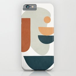 Minimal Shapes No.35 iPhone Case