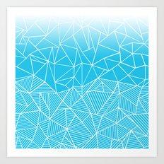 Ab Half And Half Electric Art Print