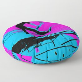The Tail-Grab Scooter Stunt Floor Pillow