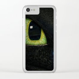 Who's Peeking There Clear iPhone Case