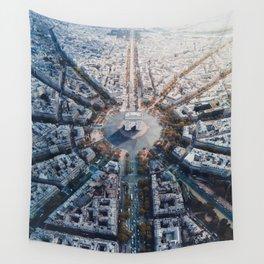 Arc De Triomphe, Paris Wall Tapestry