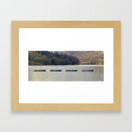 Four in a row Framed Art Print