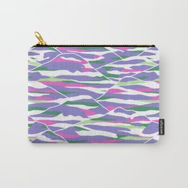 Purple Mountains | Paint by Numbers Carry-All Pouch
