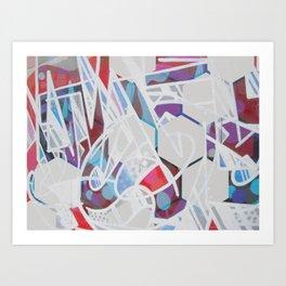 hex Graf Art Print