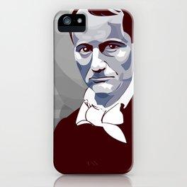 Baudelaire iPhone Case