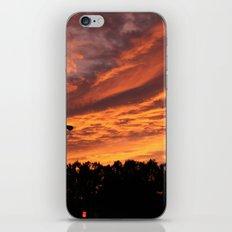 Pink and Orange Sunset iPhone & iPod Skin