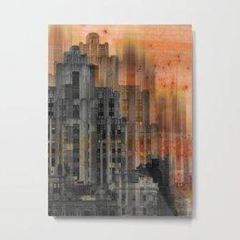 Montreal city by Jean-François Dupuis Metal Print